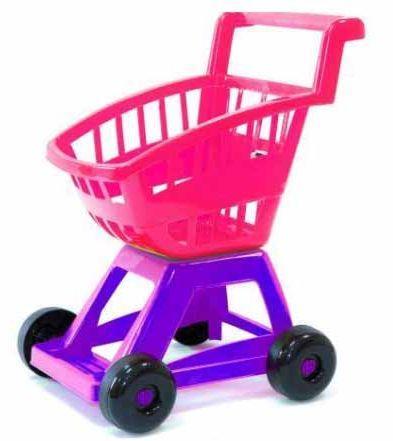 Дитячий візок супермаркет Оріон 693 рожева