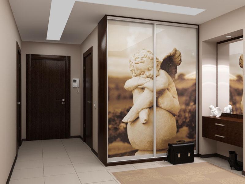 Шкаф купе 02 1800х600х2200 Алекса мебель