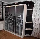 Шкаф купе 05 2400х600х2200 Алекса мебель, фото 2