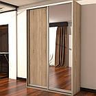 Шкаф купе 02 1400х450х2200 Алекса мебель, фото 9