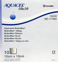 Аквасель Гидрофайбер повязка с серебром ConvaTec (Aquacel Ag) 10 x 10 см, арт. 403708