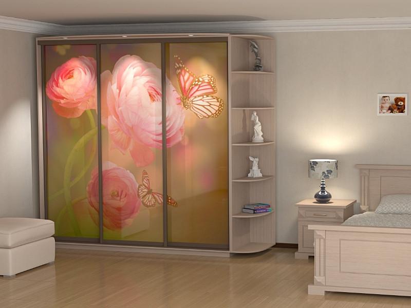 Шкаф купе 05 2400х450х2200 Алекса мебель