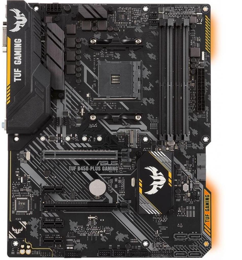 Материнська плата Asus TUF B450-Plus Gaming