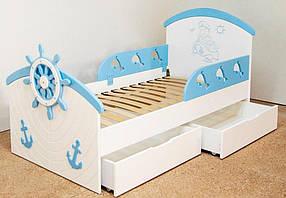 Кроватка детская Капитан. спальное место 160*80 см.