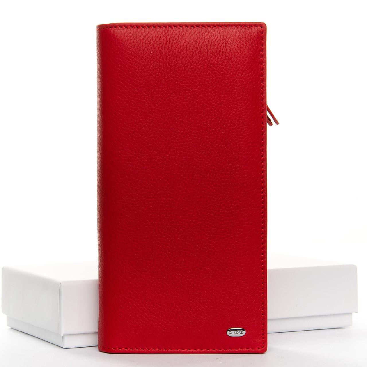 Кошелек Classic кожа DR. BOND WMB-3M red