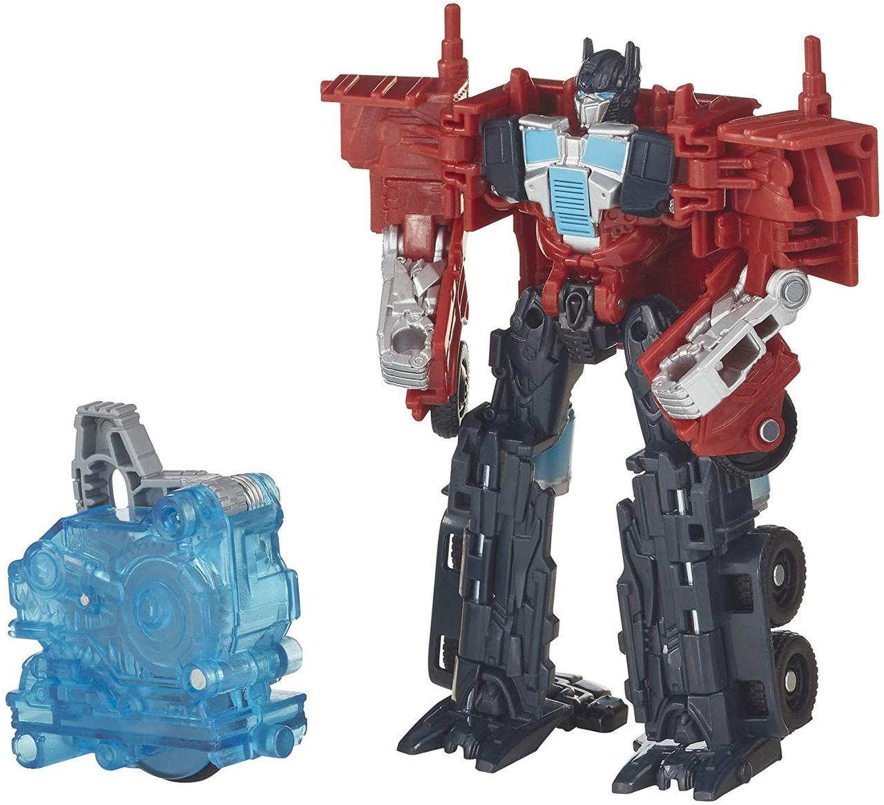 "Робот-трансформер, Hasbro Оптимус Прайм из к/ф ""Бамблби"", 11 см - Optimus Prime, Energon Igniters"