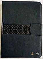 "Універсальна чохол книжка для планшета 7"" dark blue, фото 2"