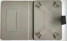 """Универсальная чехол книжка для планшета 7 """"black (с косичкой), фото 3"""