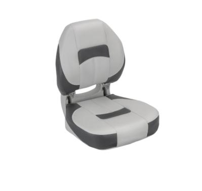 Сиденье в лодку pro angler ergonomic 75195GCC серо угольное