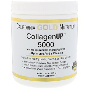 Коллаген и гиалуроновая кислота California Gold Nutritio 205 г