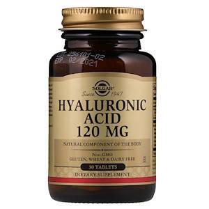 Гиалуроновая кислота  Solgar 120 мг 30 таблеток, фото 2