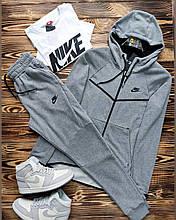 Спортивный костюм Nike,двухнить (Реплика)