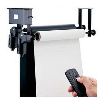 Электрическая система крепления 2-х бумажных фонов на стену / потолок Visico B-2WE (держатель для фотостудии)