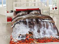 Комплект постельного белья First choice  3D бамбук -  Waterfall