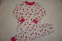 Пижама детская с манжетиками, Турция. Размер 1,2 года