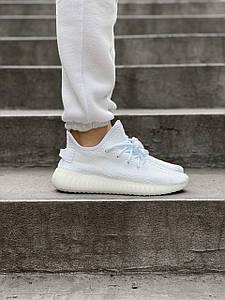 Женские Кроссовки Adidas Yeezy Boost V2 Crem White, Адидас Изи Буст 350 Белые