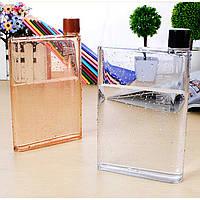 Дизайнерская бутылка для воды Memo Notebook А5