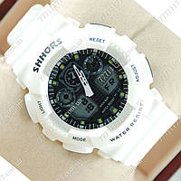 Часы женские наручные Casio G-Shock Shors GA-100 White/Black