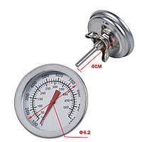 Термометр механический супер высокотемпературный +500 С, фото 1