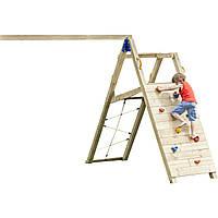 Ігровий модуль з гойдалками і скалодромом KBT Blue Rabbit CHALLENGER для дітей, фото 1