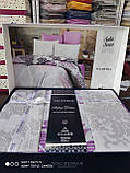Комплект постельного белья из сатина deluxe евро размер TM Victoria Maderia, фото 2