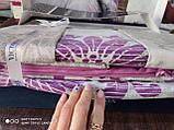 Комплект постельного белья из сатина deluxe евро размер TM Victoria Maderia, фото 3