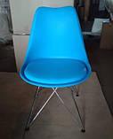 Стул Тауэр С голубой мягкий СДМ группа (упаковка 3 шт. - бесплатная доставка), фото 7
