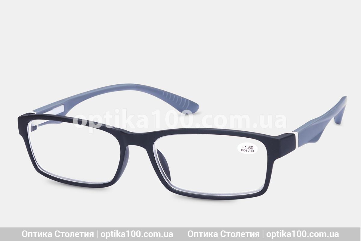Окуляри для зору МІНУС. Пластикова спортивна оправа -1,5