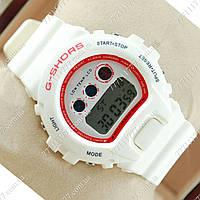 Часы женские наручные Casio G-Shock Shors 700-SHS06 White/Red