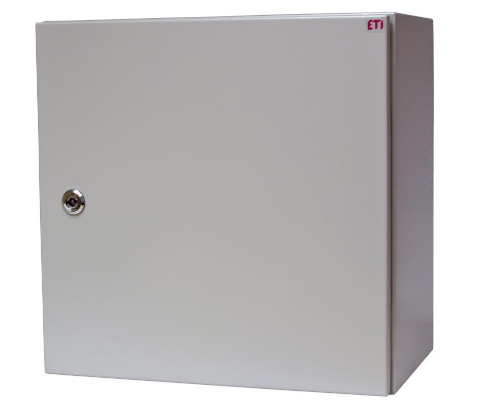 Металлический шкаф IP66 GT 80-40-25 В800xШ400xГ250 1102129 с монтажной панелью (распределительный, 2 замка)
