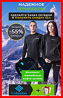 Термобелье женское и мужское коламбия , Columbia ,цвет черный M