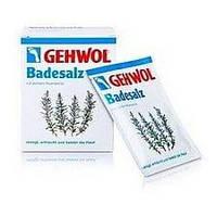 Gehwol Badesalz Геволь - Соль для ванны с маслом розмарина, 10х25 г