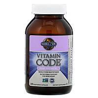 """Витамины для беременных Garden of Life """"Vitamin Code"""" Raw Prenatal, комплекс для мамы и ребенка (180 таблеток)"""