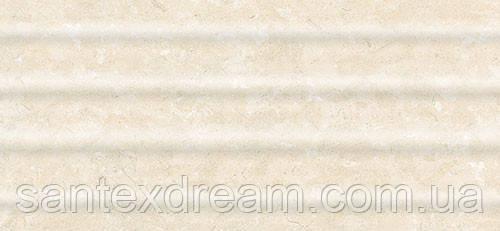 Плитка Интеркерама Оазис 23x50 светло-бежевый рельеф (21)