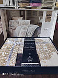 Комплект постельного белья из сатина deluxe евро размер TM Victoria Asrin, фото 2