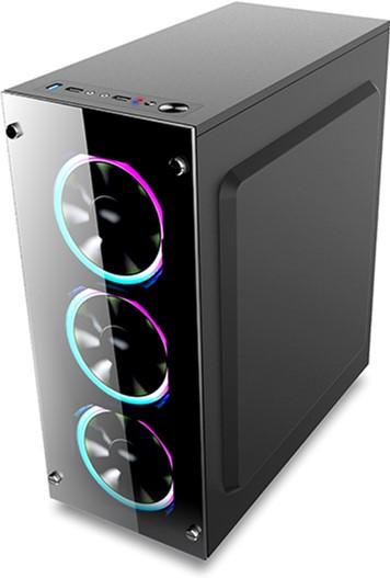 Корпус для ПК 1stPlayer Fire Dancing-V2 Color LED