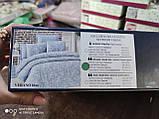 Комплект постельного белья из сатина deluxe евро размер TM Victoria Hevin, фото 4