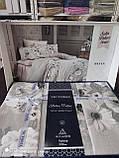 Комплект постельного белья из сатина deluxe евро размер TM Victoria Hevin, фото 2