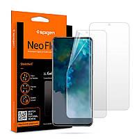 Защитная пленка Spigen для Samsung Galaxy S20 - Neo Flex, 2 шт (AFL00906), фото 1