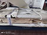 Комплект постельного белья из сатина deluxe евро размер TM Victoria Hevin, фото 3