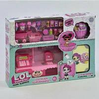 """Кукла LOL с набором ВВ 905 (18) """"Магазин мороженого"""", в коробке"""
