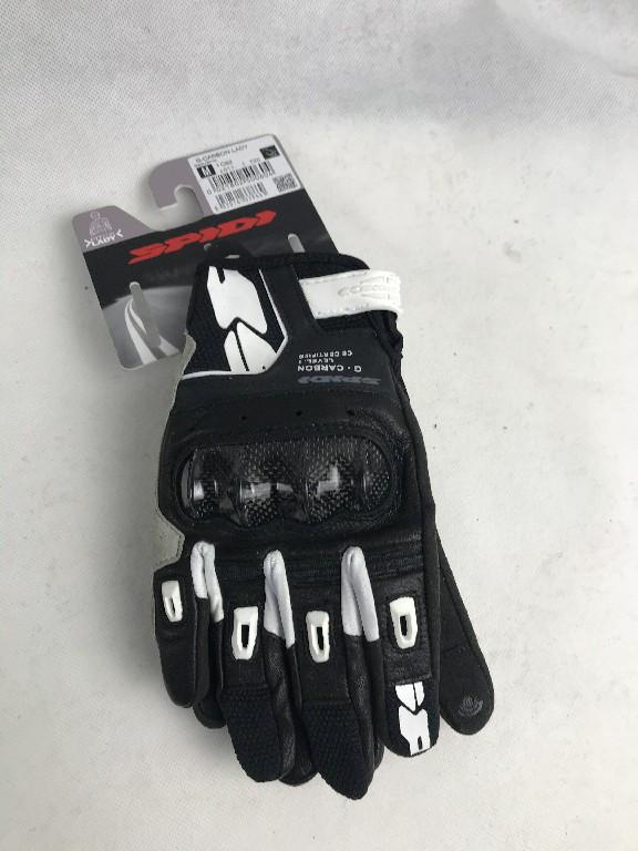 Кожаные мотоперчатки Spidi  G-Carbon Lady C92 размер M из Италии