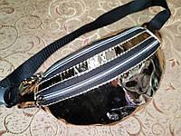 Женская сумка на пояс глянцевый искусств кожа только оптом, фото 1