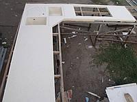 Столешница с угловой мойкой (цена за литую мойку 2400грн./шт.), фото 1