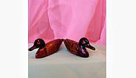 Статуэтка денежные утки мандаринки, длина 8 см., цена за 2 шт.