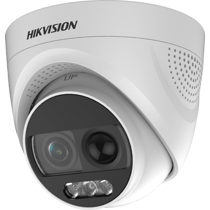 2 Мп ColorVu Turbo HD видеокамера Hikvision с PIR датчиком и сиреной DS-2CE72DFT-PIRXOF (2.8 мм)