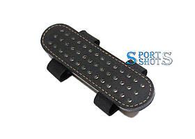 Патронташ для куль калібру 4,5 мм на 42 кулі (шкіра, чорний)