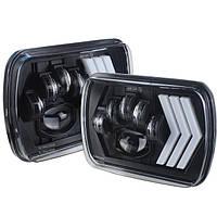 Фари прямокутні (LED) 4x6, 5x7 (6x7, 6x8) дюймів