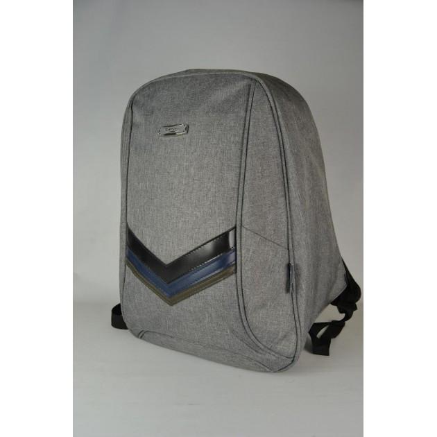 Міський рюкзак світло-сірий | Городской молодежный светло-серый рюкзак