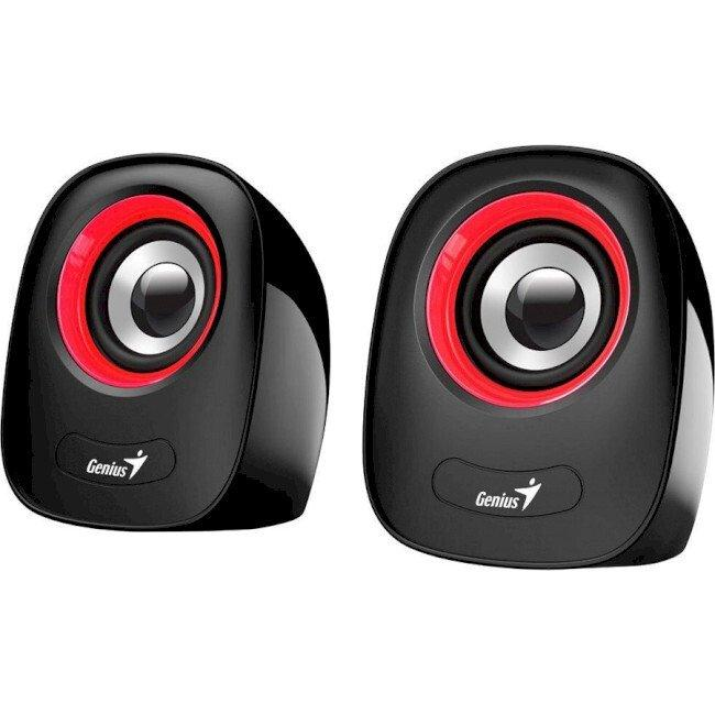 Колонки Genius SP-Q160 Red USB (31730027401)
